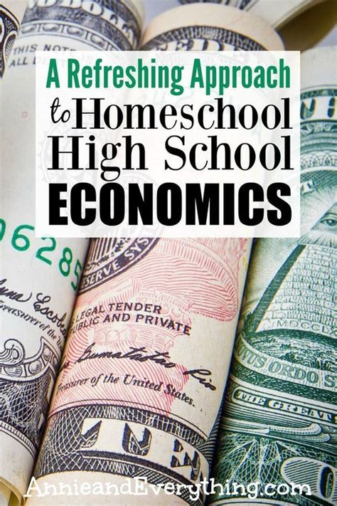 A Refreshing Approach: A Free Market Economics Homeschool ...