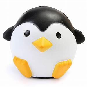 Squishy Penguin 10cm Slow Rising Soft Kawaii Cute Animals