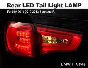 Bmw F Style Rear Led Tail Light Lamp Set For Kia 2011