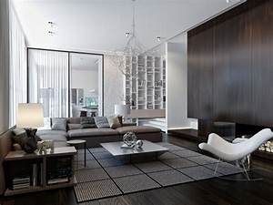 Modern, House, Interiors, With, Dynamic, Texture, And, Pattern