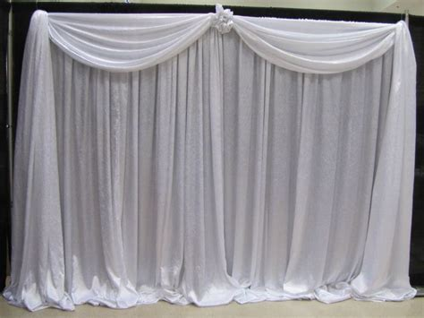 pipe and drape back drop ideas