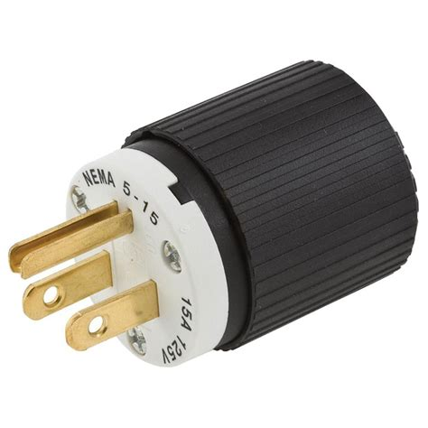 Hubbell Wiring Wire Pole Polarized Plug Volt