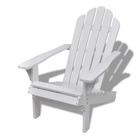 chaise blanche en bois chaise de salon jardin en bois blanche chaise relaxation