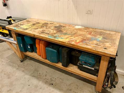 build  sturdy workbench diy  knuckleheads