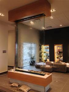 creating water ambiances with indoor water fountains walls With panneau de separation interieur