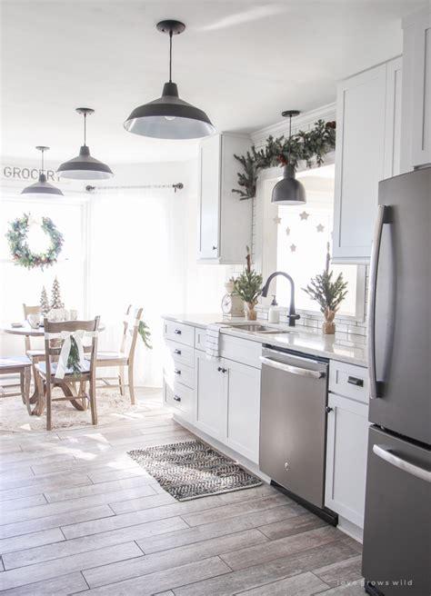 winter wonderland christmas kitchen love grows wild
