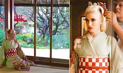 I Am Traditional Gwen Stefani by Gwen Stefani Accessorizes Ponytail With A Traditional