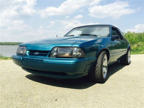 50 Mustang Fox Wallpaper by 1993 Reef Blue Ford Mustang 5 0 Classic Ford Mustang