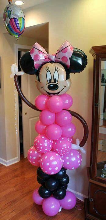 minnie mouse balloons ideas  pinterest minnie