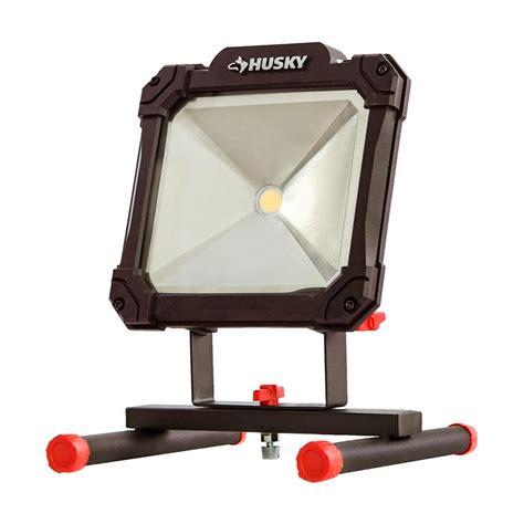 husky work light tripod husky 3500 lumen led portable worklight k40069 the home
