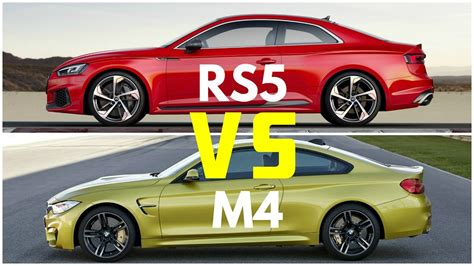 2018 Audi Rs5 Coupe Vs Bmw M4