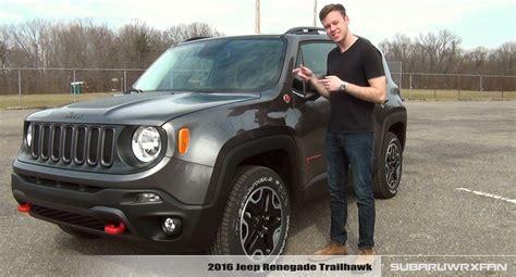jeep trailhawk 2016 white review 2016 jeep renegade trailhawk doovi