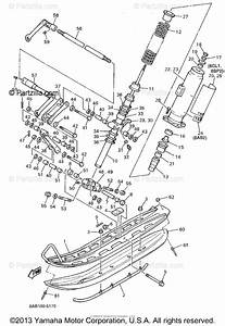 Yamaha Snowmobile 1995 Oem Parts Diagram For Ski