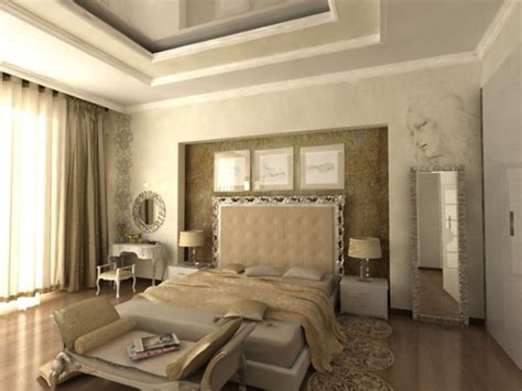 Luxurious Modern Classic Interior Bedroom Decorating Ideas