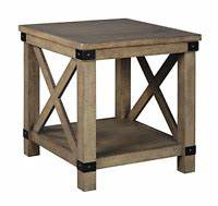 Signature Design By Cross Island Brown Rectangular End Table Signature Design By T719 3 Cross Island Collection