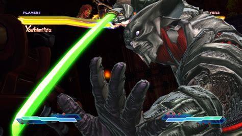 Yoshimitsu Character Demo Street Fighter X Tekken Youtube