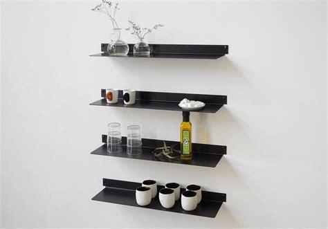 etagere murale cuisine étagère pour la cuisine teeline 60 cm lot de 2 acier