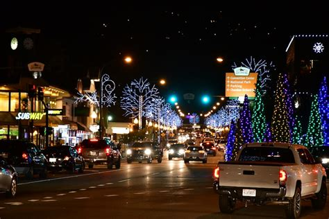 Gatlinburg Lights by Celebrate In The Smoky Mountains With A