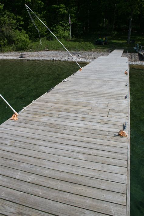 Retractable Boat Dock Cleats by Thousand Islands Retreat Carleton Island Real Estate Cape