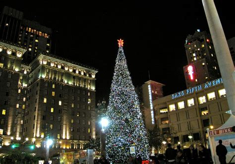 san francisco tree lighting get in the spirit of the season with these events in san