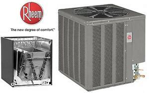 Rheem Seer Ton Central Air Conditioning Condensing