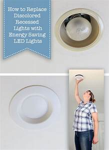 How To Update Ugly Recessed Can Lights With Energy