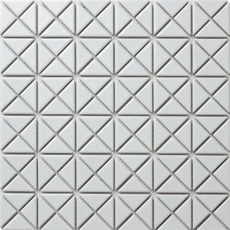 white porcelain mosaic tile 1 cheap matte porcelain triangle white tile mosaic for wall cladding ant tile