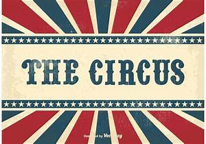 Vintage Circus Background - Download Free Vector Art ...