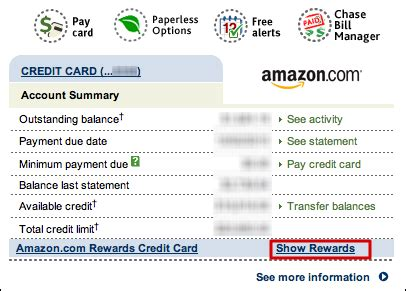 redeem rewards   chaseamazon credit card