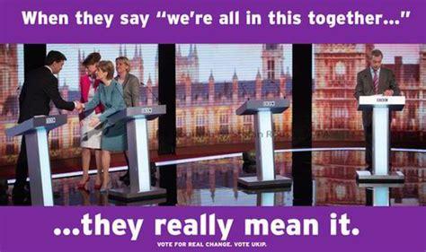 Farage Avoids Cringeworthy Party Leaders' Backslap Fest