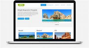 simple responsive template With what is a responsive template