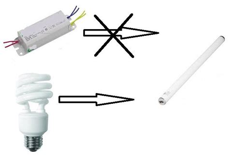 Fused Cfl Replacement For Electronic Choke Ballast