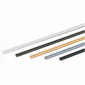 rail de porte coulissante pvc slideline 55 hettich bricozor With rail de porte coulissante
