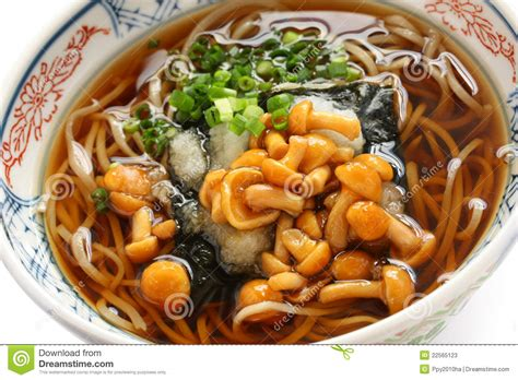 cuisine japonaise calories soba de nameko cuisine japonaise de nouille de sarrasin