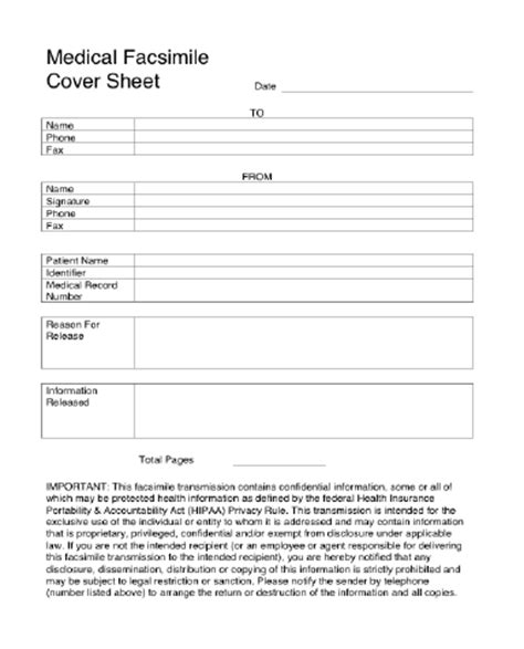 free resume templates for microsoft word 2008 medical fax cover sheet