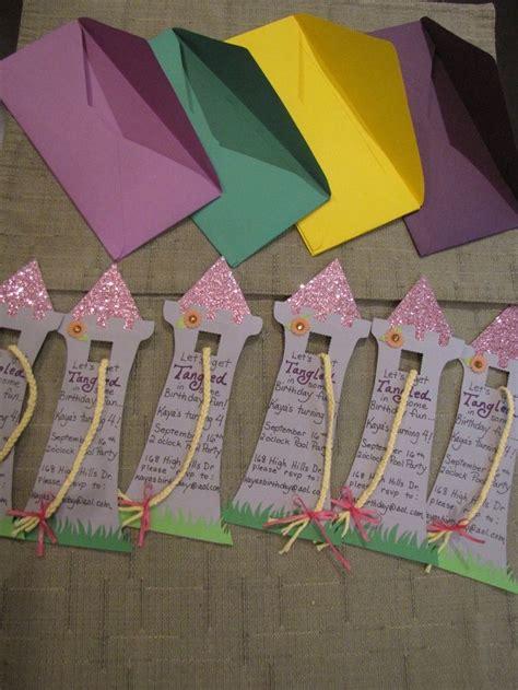 bastelt eure geburtstagseinladungen selber kindergeburtstag geburtstagseinladungen
