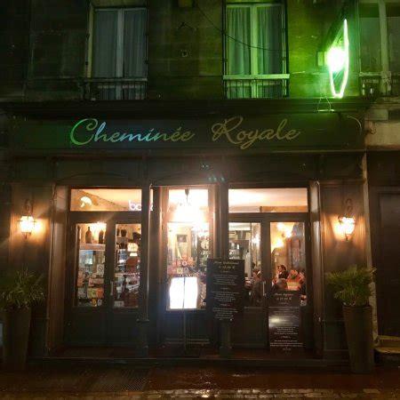 Restaurant La Cheminee Royale Dans Bordeaux Avec Cuisine