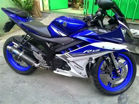 Foto R15 Modif by Modifikasi Yamaha R15 Terbaru Movistar New Merah Velg Jari