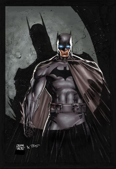 Batman Jim Lee Practice By Juancaque On Deviantart