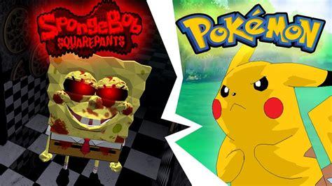 Spongebob.exe Attacks Pikachu