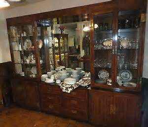 henredon scene one china cabinet and storage ebay