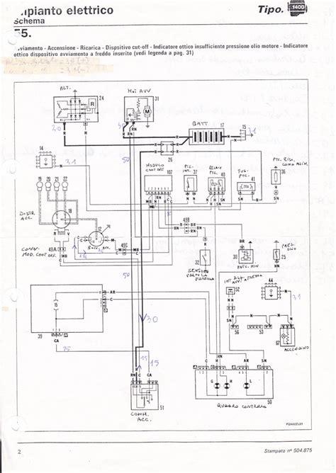 schema elettrico alternatore fiat 126 fare di una mosca
