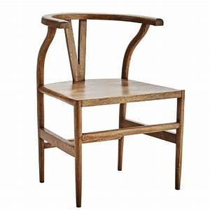Chaise Bois Vintage : chaise bois de caractere style asiatique vintage madam stoltz ~ Teatrodelosmanantiales.com Idées de Décoration