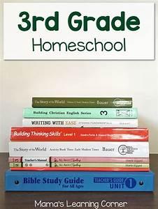 third grade homeschool curriculum plans for 2017 2018