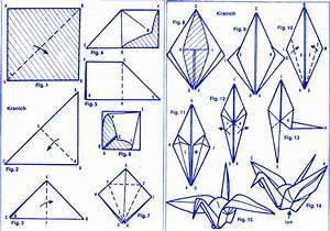 Origami Kranich Anleitung : schwan kranich ~ Frokenaadalensverden.com Haus und Dekorationen