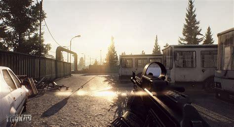 escape  tarkov war game  person shooter