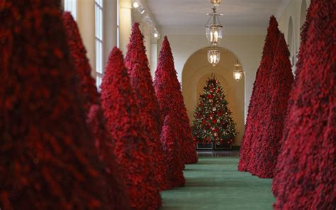 beware  blood trees netizens mock white house