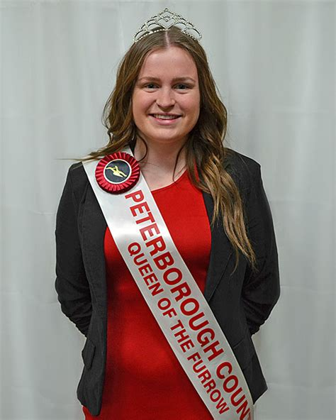 allison mackay guelph queen contestants international plowing match and rural expo