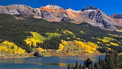 Mountain Fall Colorado Mountains Desktop Autumn Wallpapers