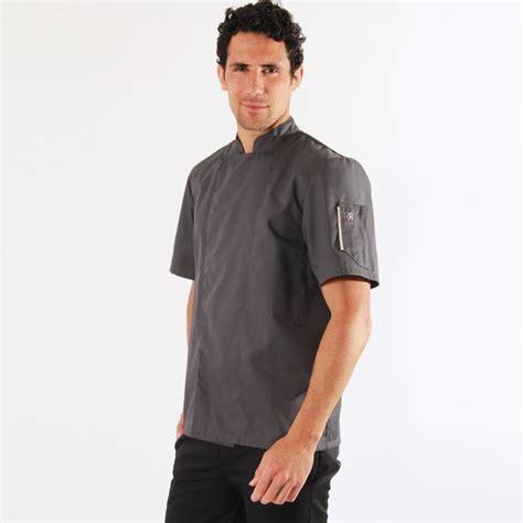 veste cuisine robur veste de cuisine grise nero robur